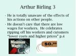 arthur birling 3
