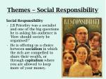 themes social responsibility