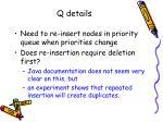 q details