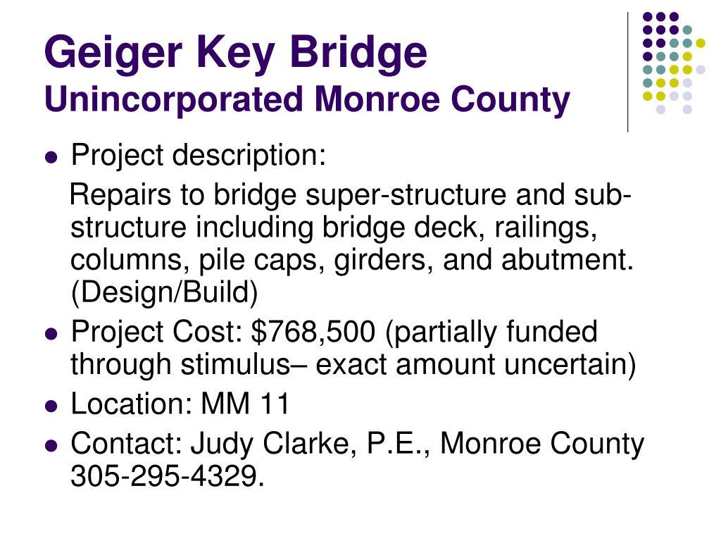 Geiger Key Bridge
