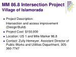 mm 86 8 intersection project village of islamorada