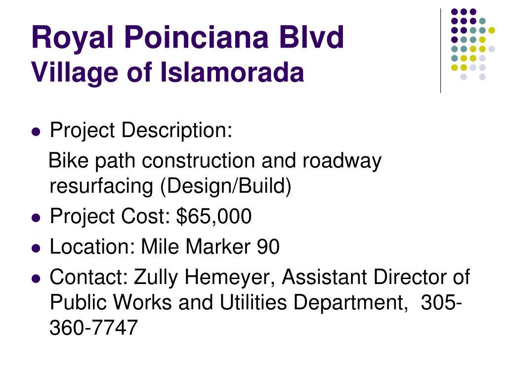 Royal Poinciana Blvd