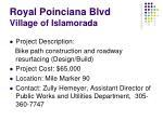 royal poinciana blvd village of islamorada