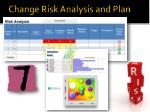 change risk analysis and plan