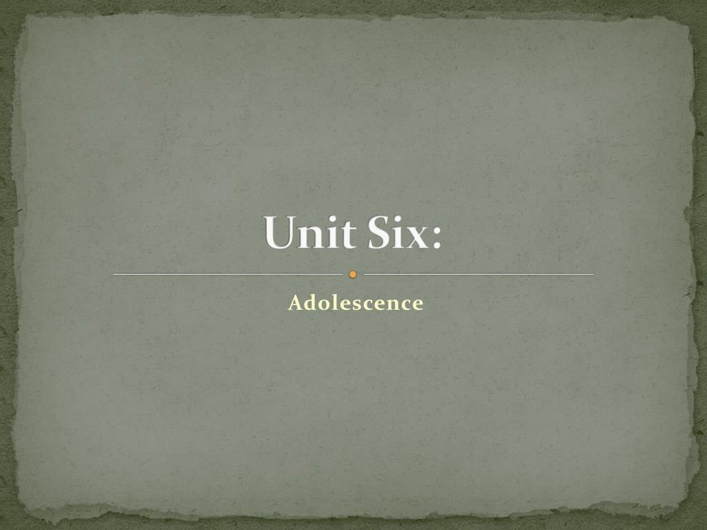 unit six l.