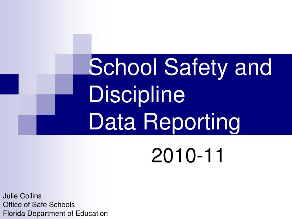 school safety and discipline data reporting l.