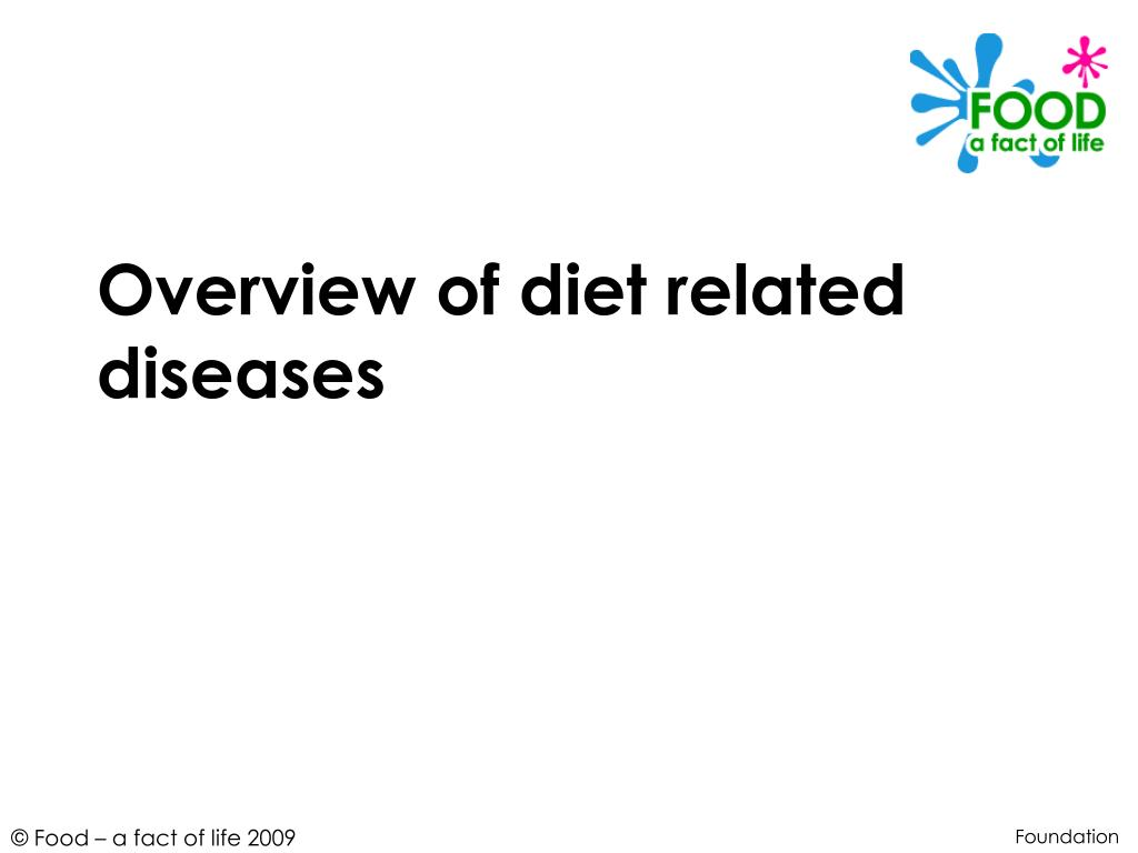 overview of diet related diseases l.