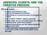 agencies clients and the creative process