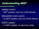 understanding abst