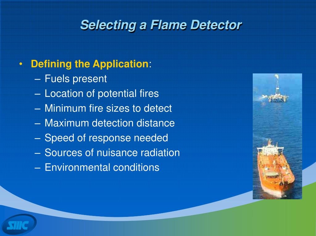 Selecting a Flame Detector
