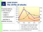 case study the 1970s oil shocks32
