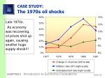 case study the 1970s oil shocks33