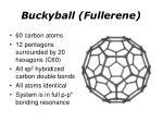 buckyball fullerene