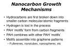 nanocarbon growth mechanisms