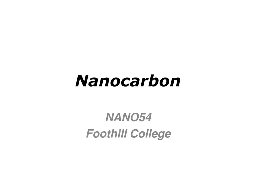 nanocarbon l.