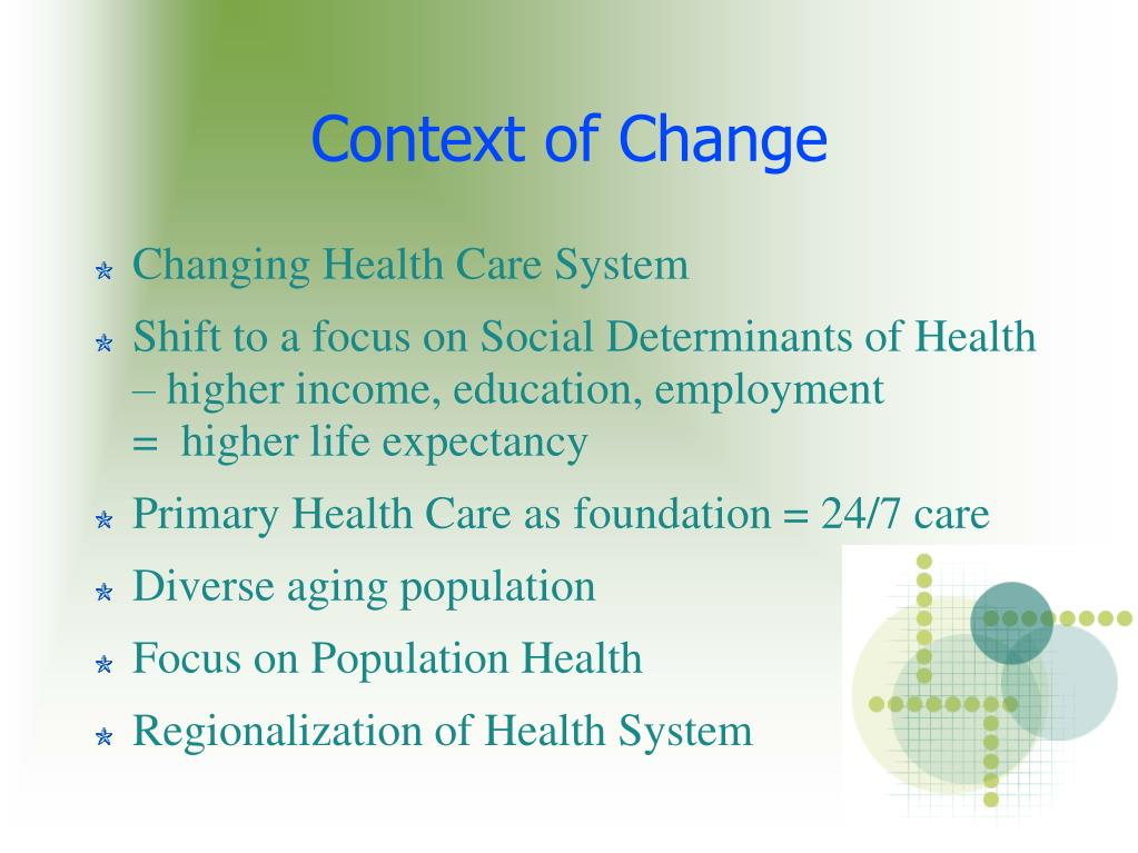 context of change l.