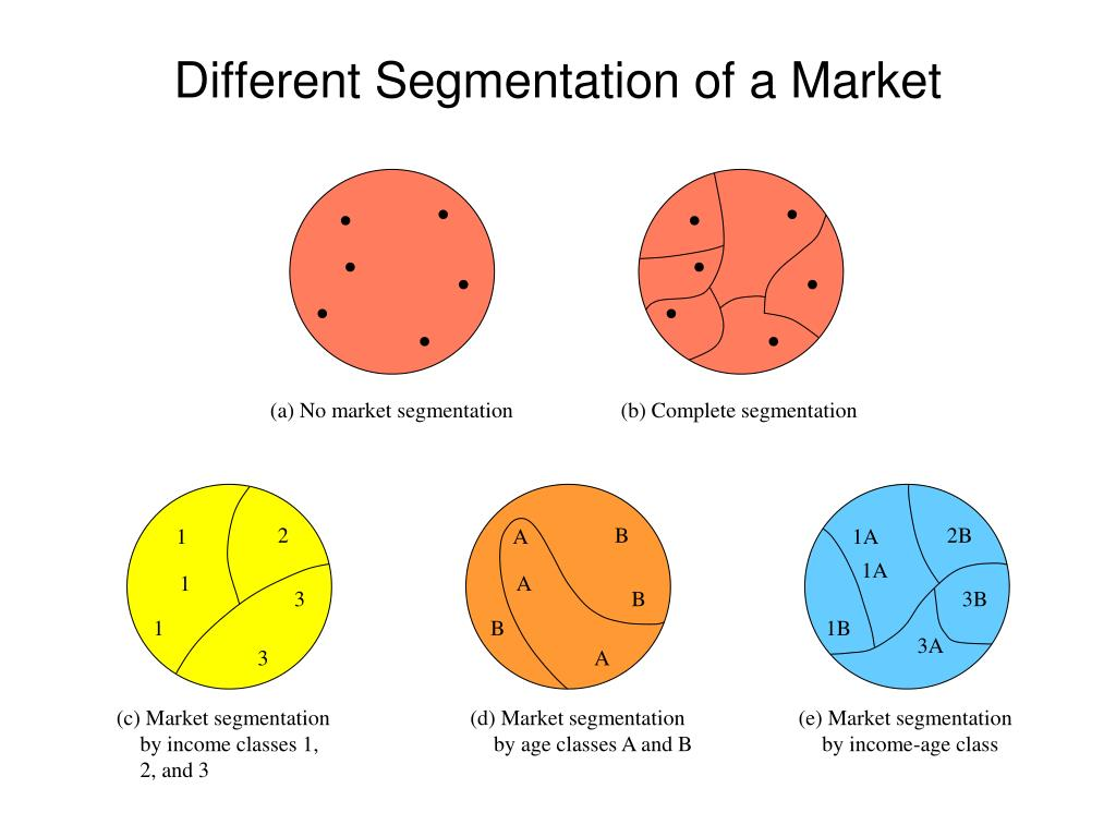 (a) No market segmentation