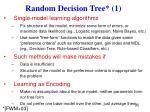 random decision tree 1