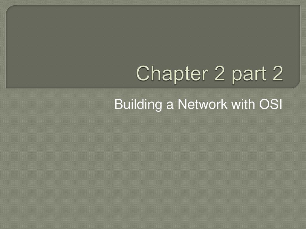 chapter 2 part 2 l.