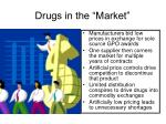 drugs in the market