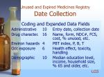 unused and expired medicines registry date collection