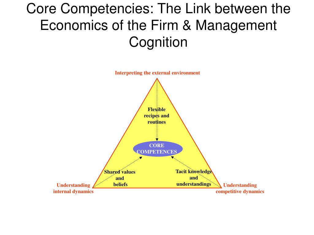 Interpreting the external environment