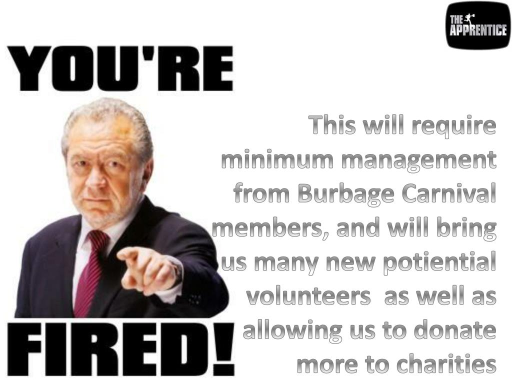 This will require minimum management from Burbage Carnival members, and will bring us many new