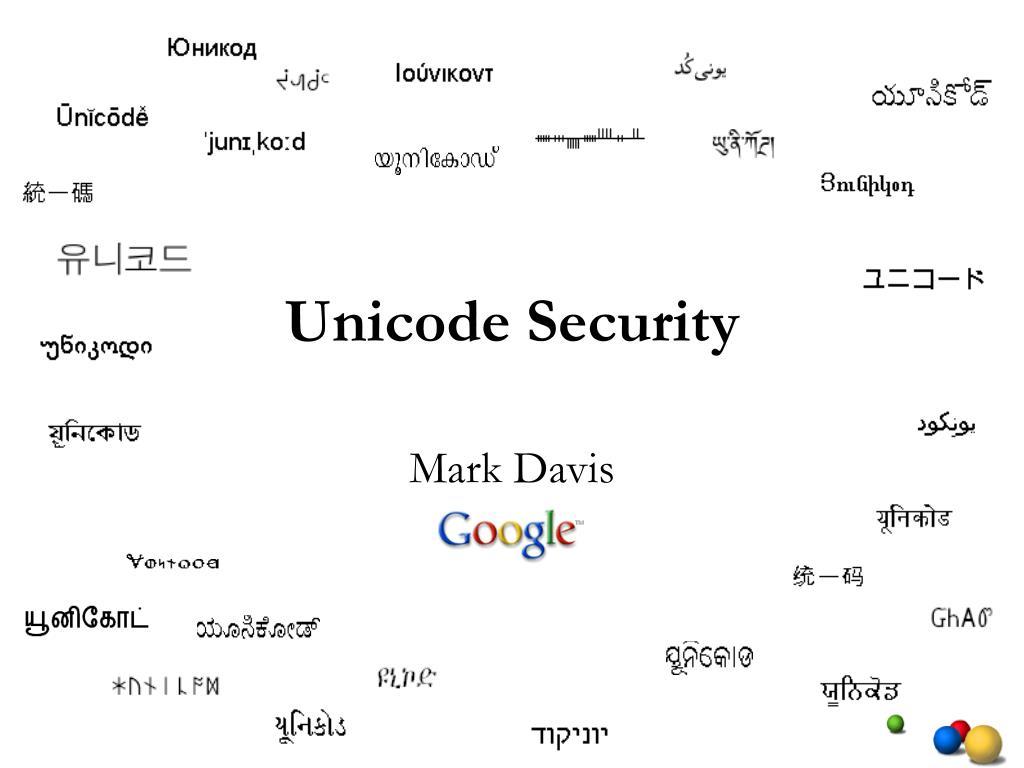 unicode security l.