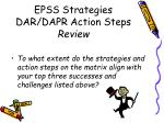 epss strategies dar dapr action steps review