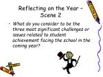 reflecting on the year scene 2