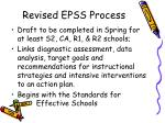 revised epss process