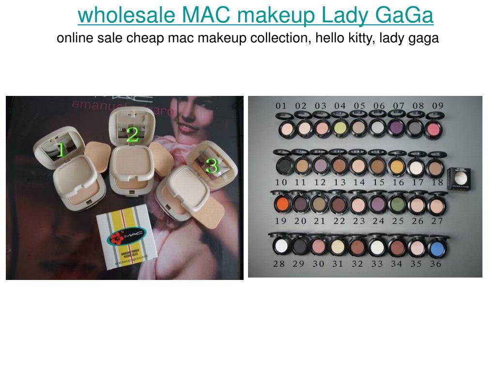 wholesale mac makeup lady gaga l.