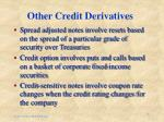 other credit derivatives