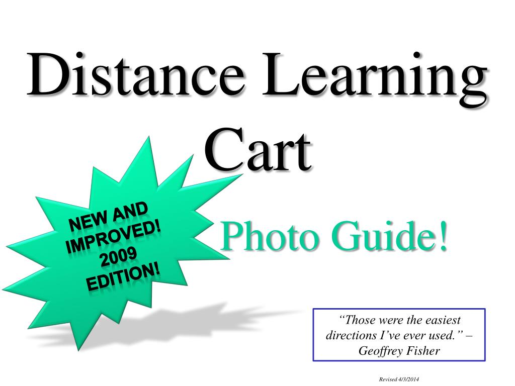 distance learning cart l.