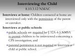 interviewing the child 8 10 3 12 nmac