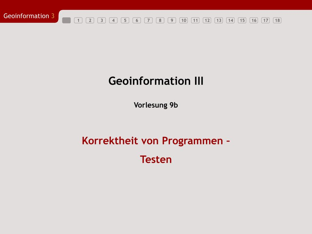 geoinformation iii l.
