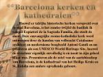 barcelona kerken en kathedralen