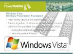 windows vista windows presentation foundation