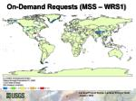 on demand requests mss wrs1