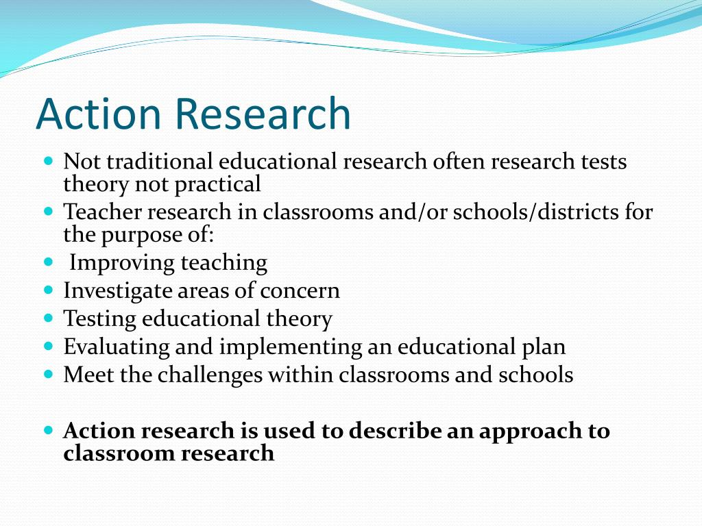 action research l.