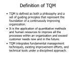 definition of tqm3