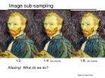 image sub sampling51