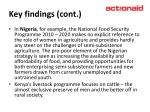 key findings cont11