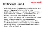 key findings cont12