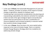 key findings cont14