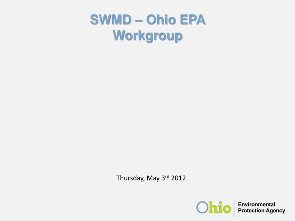 swmd ohio epa workgroup l.