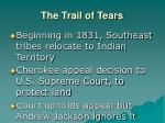 the trail of tears23