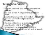 telangana vision2