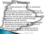 vision on education4
