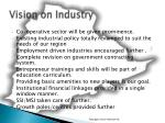 vision on industry